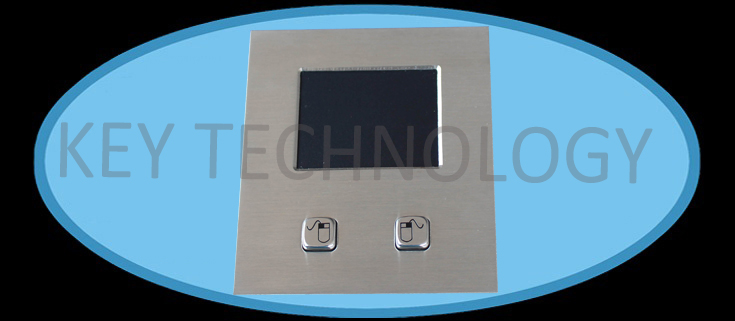 IP65 dynamic sealed and ruggedized tough touchpad