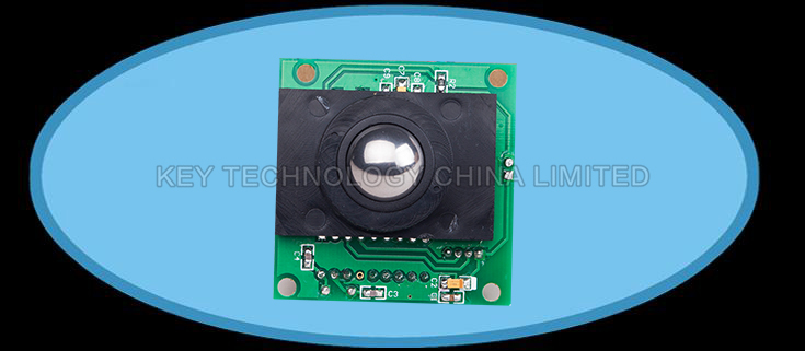 IP68 16mm stainless steel optical trackball MODULE